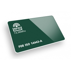 Stampa Tessere in Offset 4+4 con tecnologia RFID 13.56Mhz 1K ISO 14443A