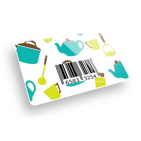 PVC CARD con Barcode