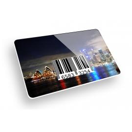 Tesserine plastiche con codice a barre aggiuntivi H24 termografia