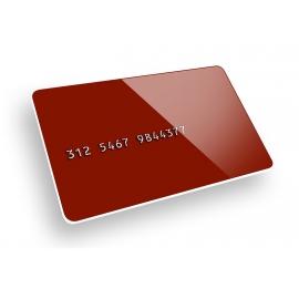 PVC CARD con EMBOSSING Aggiuntivo